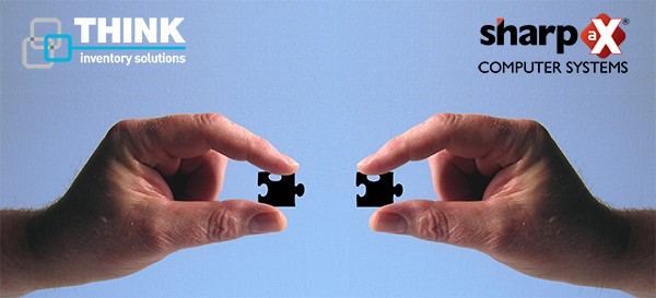 black puzzle pieces being joined